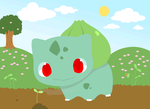 Request - Bulbasaur by drill-tail