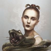 Medusa by vampirekingdom