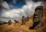 Rapa Nui Quarry by stinebamse