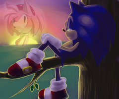 Craving :sonamy speedpaint: .gift. by Blue-Chica