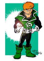 Green Lantern - Guy Gardner by Zorgia