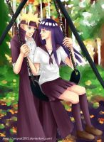 2nd Commission: NaruHina by sreysat2013