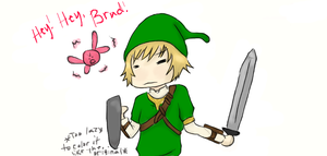 Brad is now Link - K and B- by Devilish-Mango