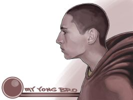 my young bro by PENSA