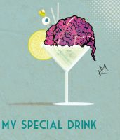 -My Special Drink- by Kiwi-Mystere