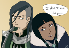 Huan and Eska? by marmotteb