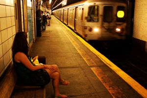 Waiting for the Subway III by patrick-brian