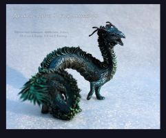 Raven-Dragon Quetzalcoatl by hontor