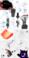 (small) Sketch dump no.10 by Dusty-Demon