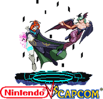 Midna vs Morrigan Nintendo vs capcom by Riklaionel