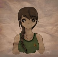 Katniss by xxMagueeMay