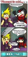 FF7 - Vincent is odd... by Dai-Studios
