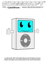 Cubeecraft - iPod by CyberDrone