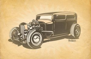 Ford Sedan by PachecoKustom