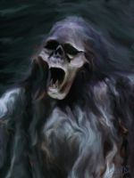 Wailing Wraith by OrestesGraphics
