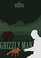 Grizzly Man Poster Alt 2 by Rheostatician