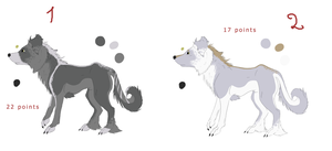 Pointable dogs 1 by RanAdopts
