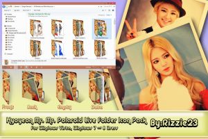 Hyoyeon Mr. Mr. Polaroid Live Folder Icon Pack by Rizzie23