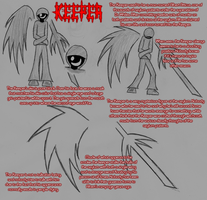 Keeper Ref And Info Page by Hunterkirizaki