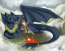 Toothless Gift by NillaKiwi