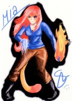 Mia Powers Colored by Okhorse21