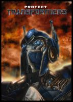 my own autobot final version by jamga