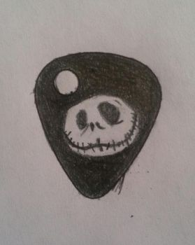 Jack Guitar Pick by msmusic137