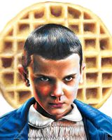 Eleven of Stranger Things by LeahBell94