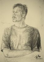 Portrait of Zoltan by aksztrk29
