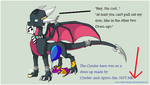 Cynder Dress up: my Cynder. by Ddraigtanto