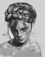 daily sketch 4285 by nosoart
