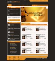 network community template by LeMex