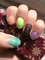 tiki nails 2 by wittlecabbage