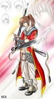a Samurai Kenshin couldn't be by Hastezone