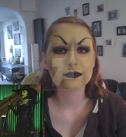 make-up trial theodora wicked witch by WickedWitchTheodora