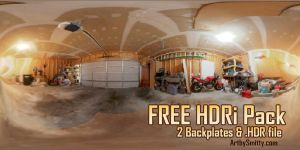 FREE HDRi Pack by Art-by-Smitty
