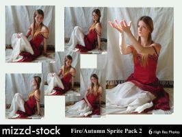 Fire+Autumn Sprite Pack 2 by mizzd-stock