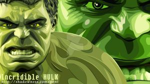 The Incridible Hulk by penisantoso