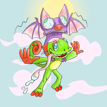 Yooka-Laylee by ThePS2Gator