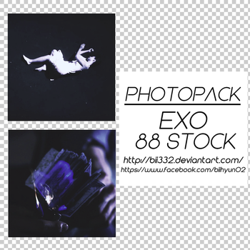 [PHOTOPACK] #011: EXO LOTTO (LOUDER) by Bii332