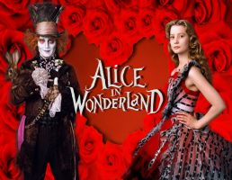 AIW: Alice and Hatter Valentine by Kyukitsune