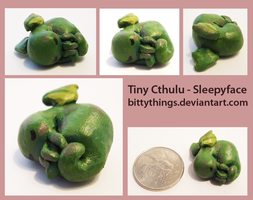 Little Cthulu - Sleepy - SOLD by Bittythings