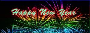 Happy New Year Banner by muffet1