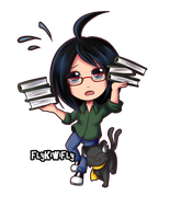 DerpTown Librarian by FlyKiwiFly