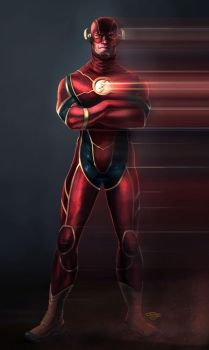 The Flash by Gagoism