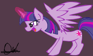 twilight sparkle alicorn by pinkamena1999