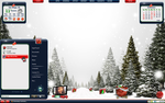 White Christmas Desktop by a666a