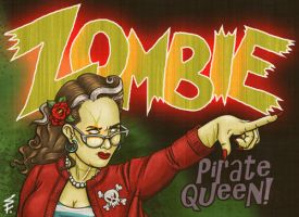 Zombie Pirate Queen ID by Shannanigan
