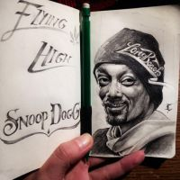 Snoop Dogg- Flying High by Elliesmeria