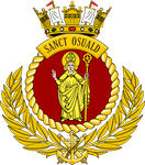 Ships Badge - Sanct Osuald by Antrodemus